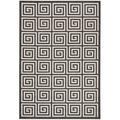 World Menagerie Headrick Gray Indoor/Outdoor Area Rug Polypropylene in Brown/Gray, Size 72.0 H x 48.0 W x 0.19 D in | Wayfair