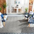 World Menagerie Headrick Gray Indoor/Outdoor Area Rug Polypropylene in Brown/Gray, Size 120.0 H x 94.0 W x 0.19 D in | Wayfair