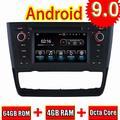 ROADYAKO Unité Principale Android 8.0 pour BMW E81 / E82 / E88 1 Série 2004 Autoradio Radio Navigation GPS Stéréo WiFi 3G RDS Miroir Lien FM AM Bluetooth Audio Vidéo