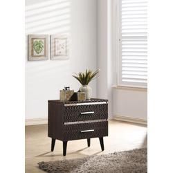 Mahda Nightstand in Cherry (High Gloss) - Acme Furniture 97053
