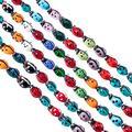 "PH PandaHall 10 Strands Millefiori Lampwork Glass Beads Ladybug Spacer Bead for Jewelry Making 11.8"" (200pcs)"