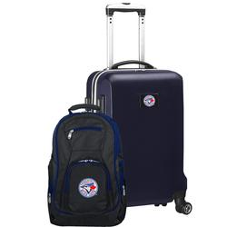 """""""Toronto Blue Jays Deluxe 2-Piece Backpack and Carry-On Set - Navy"""""""