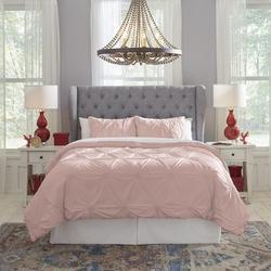 Pointehaven Duvet Cover Set Cotton/100% Cotton/100% Cotton Percale in Pink/Yellow, Size Full/Queen Duvet Cover | Wayfair 200KSDSROFQ
