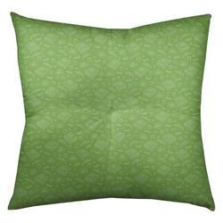 "Latitude Run® Avicia Pizza Floor Pillow, Polyester/Polyfill/Polyester/Polyester blend in Green, Size 26"" x 26""   Wayfair"