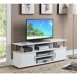 """Designs2Go 60"""" Monterey TV Stand in White - Convenience Concepts 151440W"""
