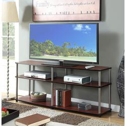 """Designs2Go 3 Tier 60"""" TV Stand - Convenience Concepts 131060CH"""
