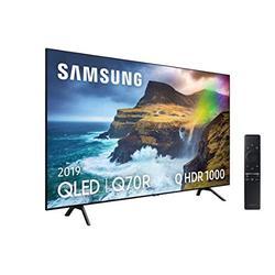 TV QLED 4K 163 cm Samsung QE65Q70R Téléviseur QLED 65 Pouces TV Connectée : Smart TV Netflix Tuner TNT/Câble/Satellite