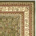 Lyndhurst Collection 8' X 10' Rug in Cream And Navy - Safavieh LNH332K-810