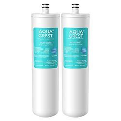 AQUACREST DW80/90 Under Sink Water Filter, Replacement for Aqua-Pure AP-DW80/90, AP-DWS1000, Kohler K-201-NA, Kohler K-202-NA (Pack of 2)