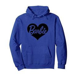 Barbie Heart Pullover Sweatshirt