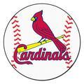 """St. Louis Cardinals 27"""" Baseball Mat"""