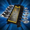 Yosoo Flexible Ratcheting Wrench Combination Spanner Tool Set 6 Piece