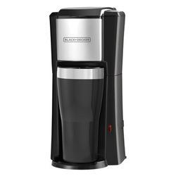 Black + Decker Single Serve Coffee Maker in Black/Gray, Size 12.0 H x 7.0 W x 5.9 D in | Wayfair CM618