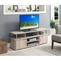 """""""Designs2Go 60"""""""" Monterey TV Stand - Convenience Concepts 151440IW"""""""