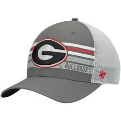 Men's '47 Gray Georgia Bulldogs Altitude Trucker Snapback Hat