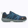Merrell Men's Fullbench Superlite Alloy Toe Work Shoe Wide Width, Size: 10.5, Blue Wing