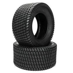 MOTOOS 2Pcs Lawn Mower Turf Tractor Tires - 16x6.50-8 16x6.50x8 4PR Tubeless DOT Complian