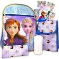 """Disney Frozen Backpack Set for Girls ~ 6 Pc Deluxe 16"""" Frozen Backpack with Lunch Bag, Water Bottle, Stickers and More (Frozen School Supplies)"""