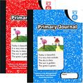 Omura PRIMARY JOURNAL Composition Note Book 100ct Black Marble (Pack 48)