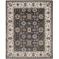 Lyndhurst Collection 8' X 10' Rug in Anthracite And Cream - Safavieh LNH340D-810