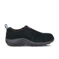 Merrell Men's Jungle Moc Alloy Toe Work Shoe, Size: 7.5, Black