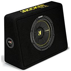 "Kicker TCWC10 Car Audio CompC 10"" Truck Sub Box Enclosure 4 Ohm 44TCWC102 (Renewed)"