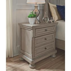 Signature Design by Ashley Furniture Nightstands Light - Light Gray Lettner Nightstand