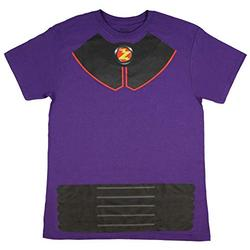 Disney Pixar Toy Story Shirt Men's I Am Zurg Toy Character Costume Tee Adult Licensed T-Shirt (Large) Purple