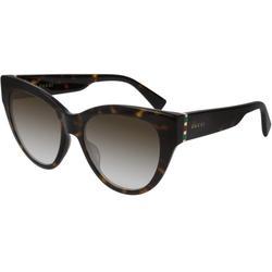 GG0460S 002 Women's Sunglasses Tortoise - Brown - Gucci Sunglasses