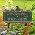 Whitehall Products Dragonfly Quote Personalized Garden Sign Metal, Size 16.63 H x 10.0 W x 4.5 D in | Wayfair 1705GG
