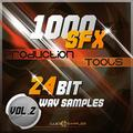 1000 SFX Production Tools Vol.2 - Effets Sonores Tres Recherchés Apple Loops/ AIFF (24Bit) DVD non BOX