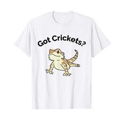 Bearded Dragon Got Crickets Bearded Dragon Accessory T Shirt T-Shirt