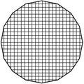 "FotodioX Eggcrate Grid for Deep EZ-Pro Parabolic Softbox (36"") EZPRO-DEEP-CLOTH-GRID-36IN"