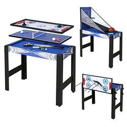 Fran_store Multi Combo Game Table, Folding Multi Game Combination Table Set with Soccer Foosball Table, Pool Table, Hockey Table, Table Tennis Table, Basketball (3FT 5 in 1)