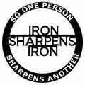 "Millwood Pines ""Iron Sharpens Iron"" Steel Laser Cut Wall Decor Finish: Black, Metal in Bronze/Gold/Brown, Size Small (12"" - 24"" High) 