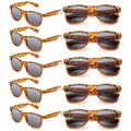 Wholesale Sunglasses Bulk for Adults Party Favors Retro Classic Party Glasses Shades 10 Pack(Tortoise Shell)