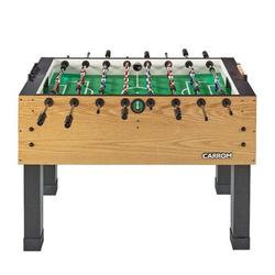 "Carrom kids 55"" Foosball Table Finish: Honey Oak, Manufactured wood in Green, Size 36""H X 55""W X 29""D 