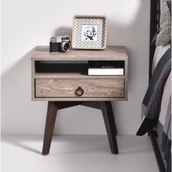George Oliver Kester 1 Drawer NightstandWood in Brown, Size 20.07 H x 19.76 W x 15.74 D in   Wayfair A823770EDFD54FBABB0789576BC9C0F3