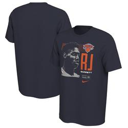Men's Nike RJ Barrett Navy New York Knicks 2019 NBA Draft First Round Rookie T-Shirt