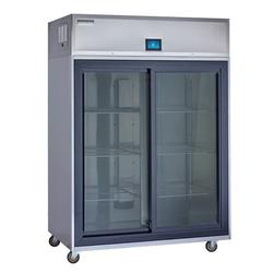 """Delfield GAR1P-GH 27 2/5"""" One Section Reach In Refrigerator, (2) Right Hinge Glass Doors, 115v"""