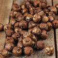 Factory Direct Craft Package of 144 Rusty Tin Jingle Bells for Holiday and Home Décor - 20 mm