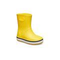 Crocs Yellow / Navy Kids' Crocband™ Rain Boot Shoes