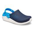 Crocs Navy / White Kids' Literide™ Clog Shoes