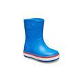 Crocs Bright Cobalt / Flame Kids' Crocband™ Rain Boot Shoes