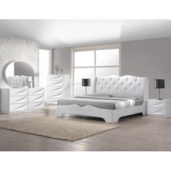 "Orren Ellis Kogan 2 Drawer Nightstand, Wood in White, Size 19""H X 21""W X 17""D | Wayfair Madrid 2 Drawer Nightstand"