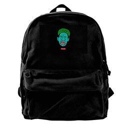 WUHONZS Canvas Backpack The Tyler Creator Rucksack Gym Hiking Laptop Shoulder Bag Daypack for Men Women