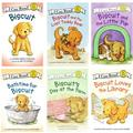 I Can Read Biscuit Beginning Reading Six Book Set : Biscuit, Biscuit's Day at the Farm, Biscuit and the Little Pup, Bathtime for Biscuit, Biscuit Loves the Library, Biscuit and the Lost Teddy