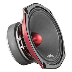 DS18 PRO-X698 BM Loudspeaker - 6x9, Midrange, Red Aluminum Bullet, 550W Max, 275W RMS, 8 Ohms - Premium Quality Audio Door Speakers for Car,Truck and Motorcycle Stereo Sound System (1 Speaker)