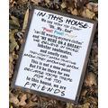 Wendore Friends Tv Show Sign  Farmhouse Decor   in This House   Home Decor   Framed Wood   Farmhouse   Friends Home Decor-835191