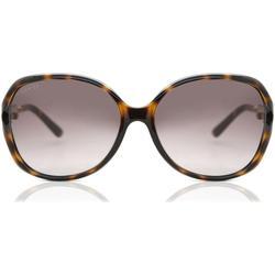 GG0076S 003 Women's Sunglasses - Brown - Gucci Sunglasses